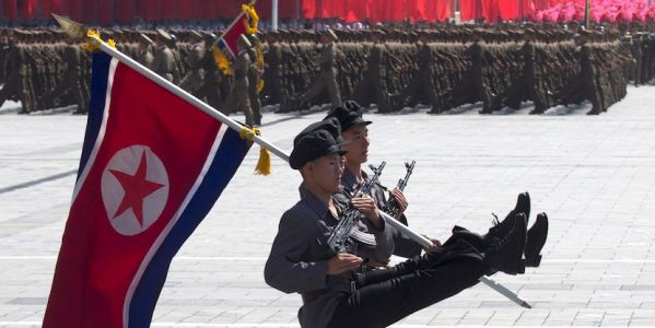 Trump's great victory on North Korea was on full display at its big military parade