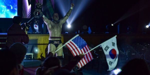 Meet the Air Force sergeant who's also a pro-wrestling champ in South Korea