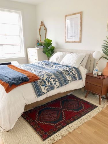 I collect pricey antique rugs, but when it comes to finding well-priced area rugs for my apartment, here's where I shop