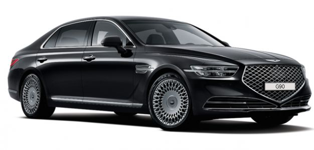 The 2020 Genesis G90 Looks Okay But I'm Not Sure About the Droopy Grille