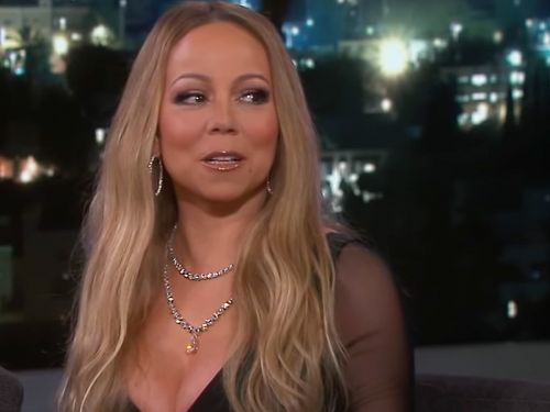Mariah Carey says she sometimes swims with her clothes on because she's 'too lazy to put on a bathing suit'
