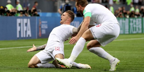 England scored another set piece goal that was so good the opposing keeper could only shrug