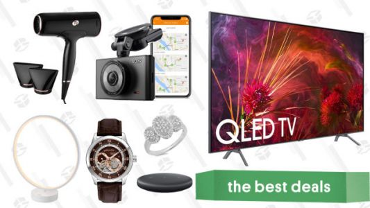 Thursday's Best Deals: Weighted Blankets, Samsung QLED TVs, T3 Hair Dryers, and More