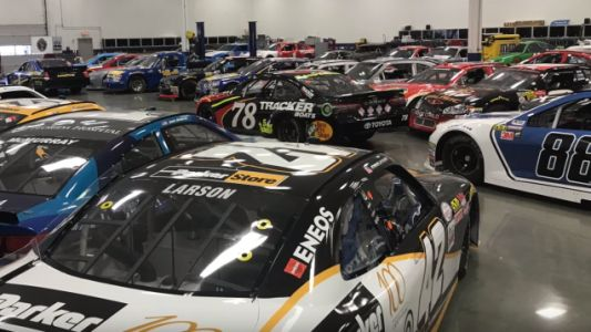 A Bunch of Old NASCAR Race Cars, Trailers and Equipment Will Go Up for Auction Soon