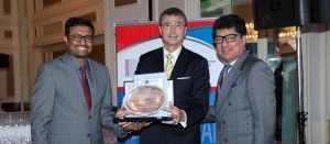 The Indian hotels company limited honoured for outstanding contribution