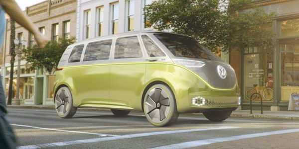 Apple teams up with Volkswagen to make a fleet of self-driving passenger vans that will haul its employees around