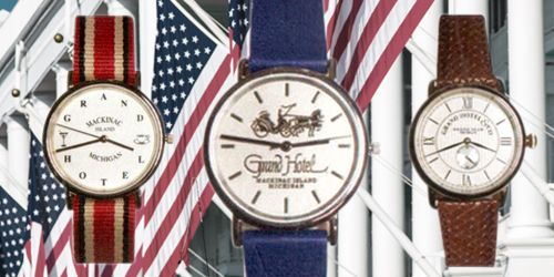 Introducing the New Grand Hotel & Co. Timepiece Collection