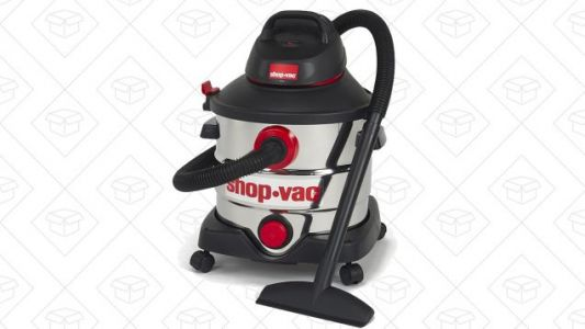 Be Prepared For Major Spills With This $52 Shop-Vac Deal