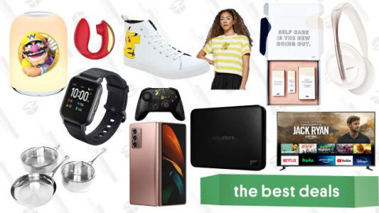 Tuesday's Best Deals: Pokémon Anniversary Apparel, Aukey Smart Watch, Insignia 70