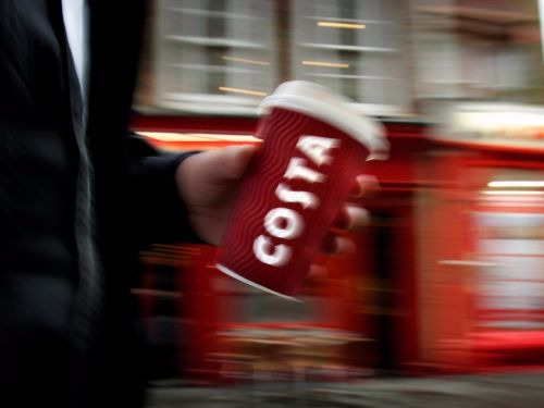 Coca-Cola just spent $5.1 billion on a massive British coffee chain, setting the scene for a battle with Starbucks. Here's how the 2 chains compare