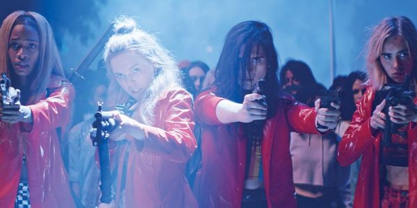 You should definitely see 'Assassination Nation,' which is a wild ride best described as 'The Purge' meets 'Spring Breakers'