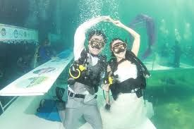 Thailand's award-winning Trang Underwater Wedding Ceremony celebrates 23rd anniversary