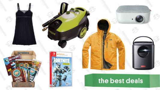 Friday's Best Deals: Sun Joe Pressure Washer, REI Anniversary, Portable Projector, and More