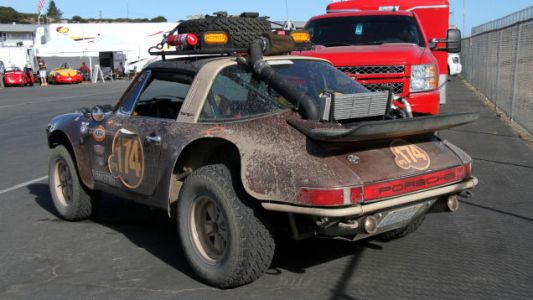 This Mud-Splattered 911 Targa Rally Car Is The Best Kind Of Porsche