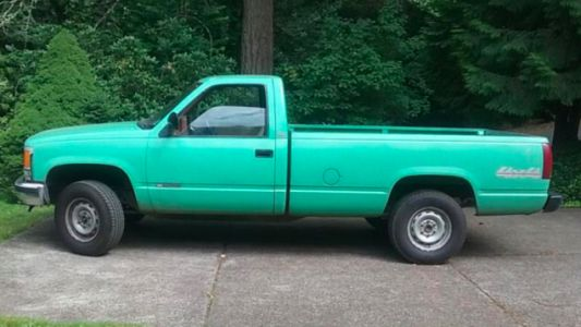 Why This Ex-Forest Service Chevy K1500 May Be The Perfect Pickup