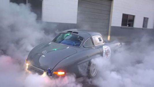 The Best 300SL Gullwing Replica is One That Does Mad Burnouts
