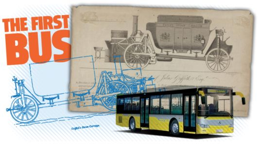 The First Bus is Way Older Than You Think