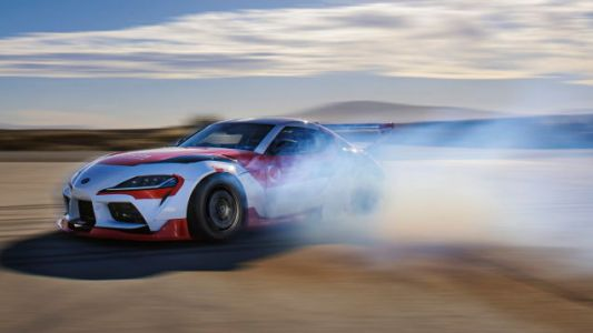 Watch This 2021 Toyota GR Supra Drift All By Itself