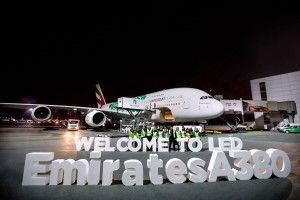 Emirates Deploys Its Iconic A380 To St. Petersburg