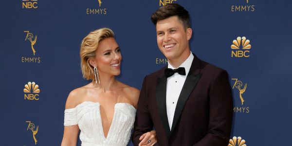 Scarlett Johansson and 'SNL' cast member Colin Jost are engaged