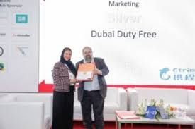 Dubai Duty Free presented with a new award by the China Outbound Tourism Research Institute