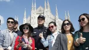 Italy putting greater emphasis on welcoming Chinese travelers