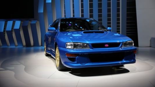 Subaru Brought Some Badass Performance Classics to the Detroit Auto Show