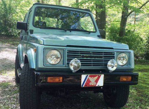 """At $13,500, Could This 1988 Suzuki Samurai """"Show Car"""" Show You a Thing or Two?"""