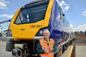 Former Station Master Made VIP Guest to celebrate 70 years Since Joining Railway