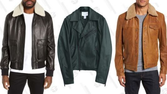 Spend Your Tax Refund On Your Other Leather Jacket