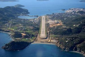 Skiathos Airport debuts nomination for Europe's top Scenic Airports Award