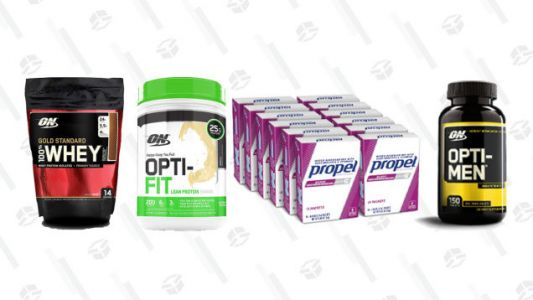 Save 20% OnWorkout Friendly Supplements, Thanks to Amazon