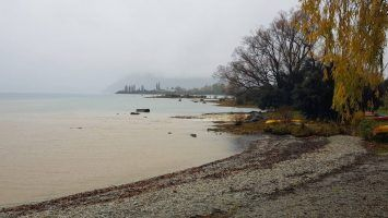 Lake Wanaka in New Zealand closed