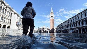 St. Mark's Square closed in Venice due to floods