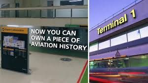 Heathrow Airport Terminal 1 contents put up for sale