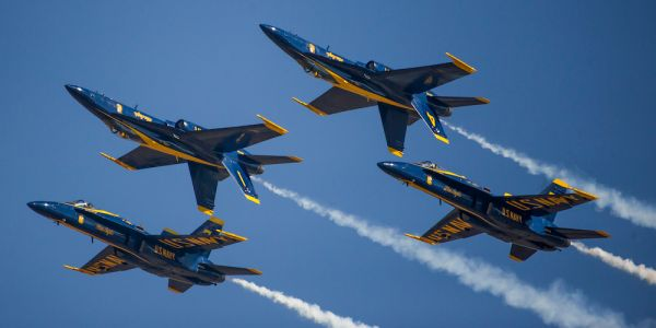 Thunderbirds and Blue Angels are teaming up for a New York flyover to honor healthcare workers on the frontlines of the COVID-19 fight