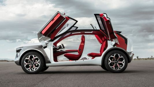 The Kia HabaNiro Is a Futuristic Mashup of What's Popular Right Now