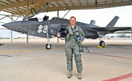 Meet the US Air Force Reserve's first female F-35A Lightning II pilot
