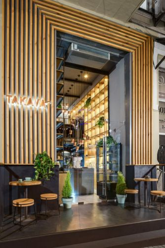 Effortlessly Cool Design and Turkish Motifs Characterize TAKAVA