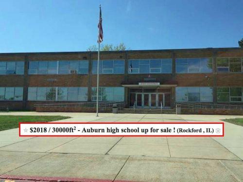 High schoolers put their school for sale on Craigslist - and it's an ingenious senior prank