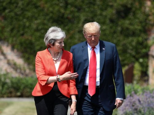 Donald Trump told Theresa May to sue the EU over Brexit
