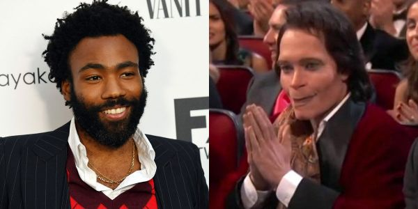 Donald Glover and his white alter-ego from 'Atlanta' are both at the Emmys - and people don't know what to think