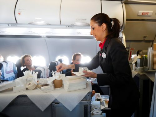 38% of flight attendants said in a new survey that they were physically abused by a passenger taking medication during the past year