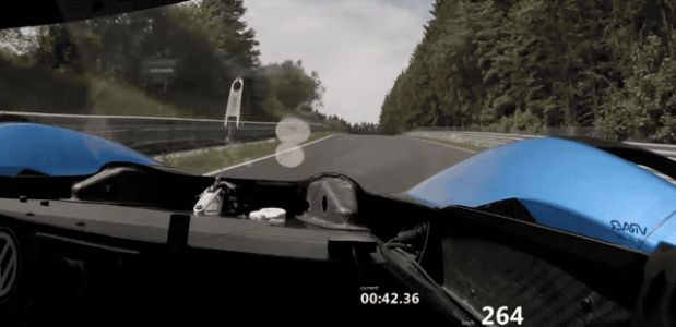 Watch the Volkswagen ID. R Set Its Flying Lap Around the Nürburgring