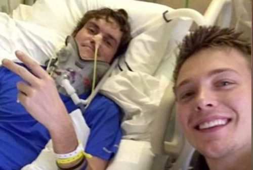 Brock Meister's life was saved by his best friend - six months later, Brock was able to save his own brother's life