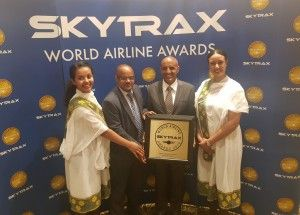 Ethiopian Airlines wins Skytrax Best Airline in Africa Award