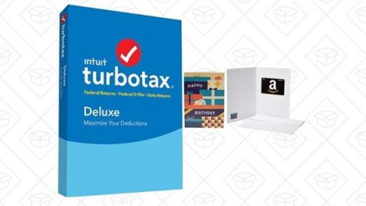 Save Big on TurboTax, and Get a Bonus Amazon Gift Card, Today Only