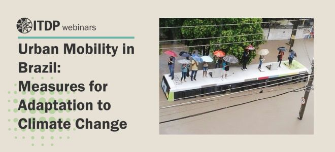 Urban Mobility in Brazil: Measures for Adaptation to Climate Change