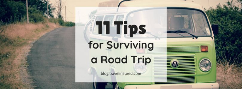 11 Tips for Surviving a Road Trip