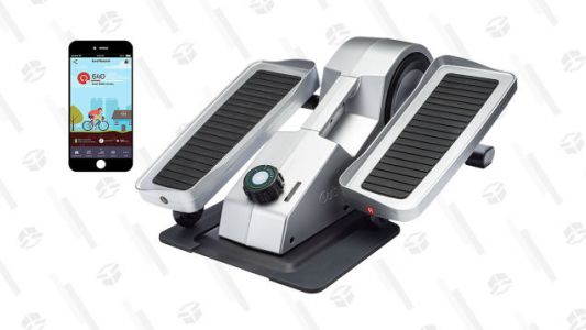 Work Out at Work with This Discounted Under Desk Elliptical